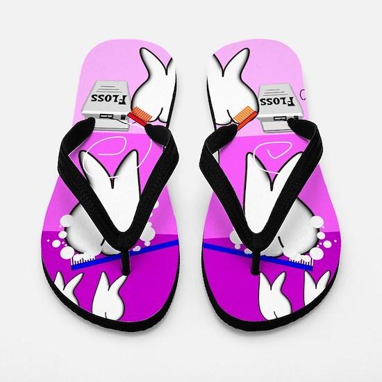 Tooth Design Flip Flops
