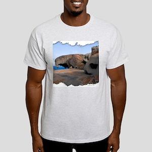 Remarkable Rocks Ash Grey T-Shirt