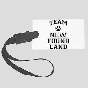 Team Newfoundland Large Luggage Tag