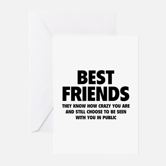 Best Friends Greeting Cards (Pk of 10)