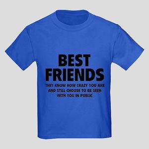 Best Friends Kids Dark T-Shirt
