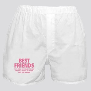 Best Friends Boxer Shorts