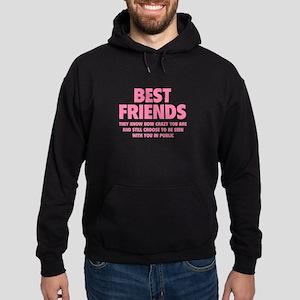 Best Friends Hoodie (dark)