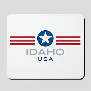 Idaho-Star Stripes: Mousepad