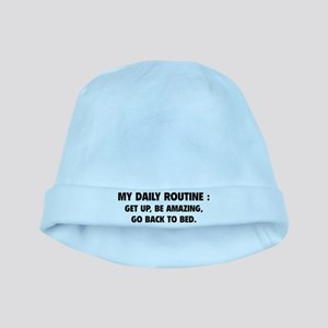 My Daily Routine baby hat