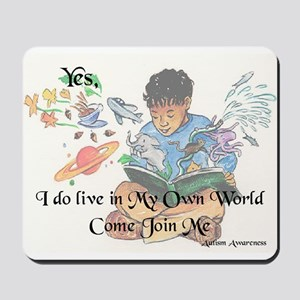 My Own World Mousepad