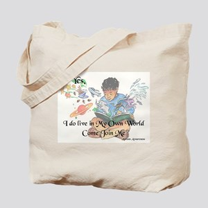 My Own World Tote Bag