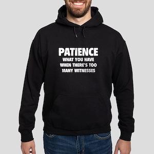 Patience Hoodie (dark)