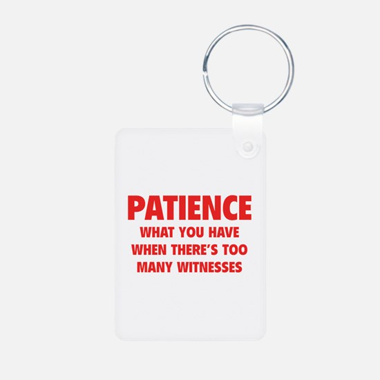 Patience Keychains
