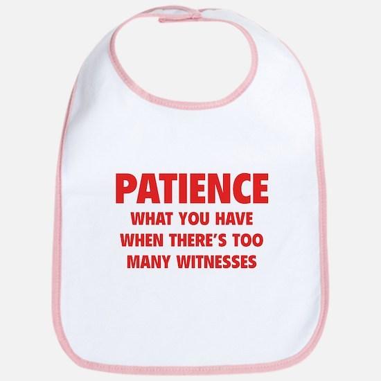 Patience Bib