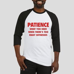 Patience Baseball Jersey