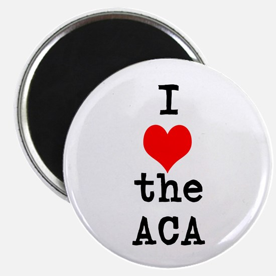 I Love the ACA Magnets