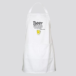 Beer and God Apron