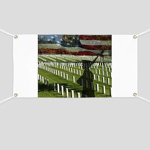 Guard at Arlington National Cemetery Banner