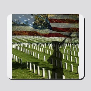 Guard at Arlington National Cemetery Mousepad