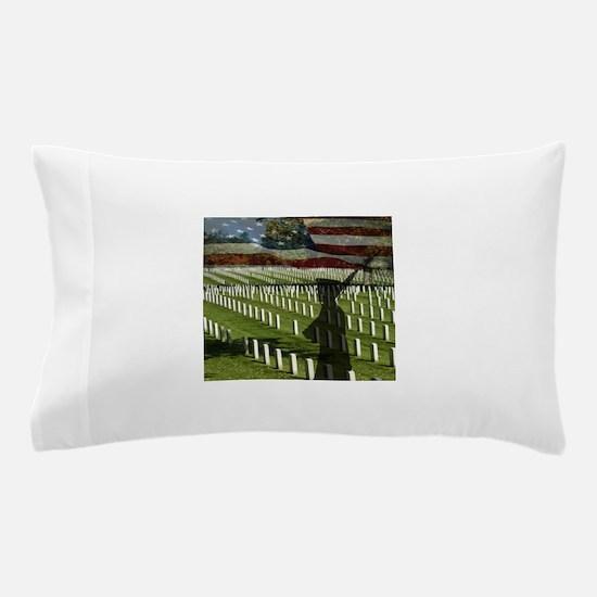 Guard at Arlington National Cemetery Pillow Case