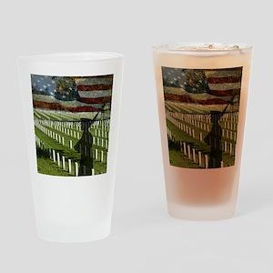 Guard at Arlington National Cemetery Drinking Glas