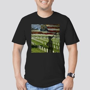 Guard at Arlington National Cemetery Men's Fitted