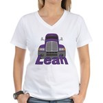 Trucker Leah Women's V-Neck T-Shirt