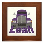 Trucker Leah Framed Tile