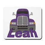 Trucker Leah Mousepad