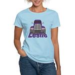 Trucker Leslie Women's Light T-Shirt