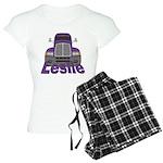 Trucker Leslie Women's Light Pajamas