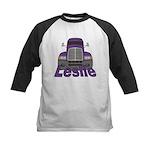 Trucker Leslie Kids Baseball Jersey