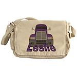 Trucker Leslie Messenger Bag