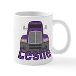 Trucker Leslie Mug