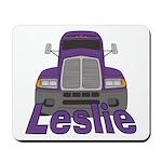 Trucker Leslie Mousepad