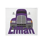 Trucker Lillian Throw Blanket