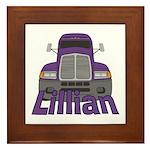 Trucker Lillian Framed Tile