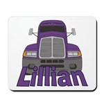Trucker Lillian Mousepad