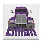 Trucker Lillian Tile Coaster