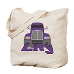 Trucker Lily Tote Bag