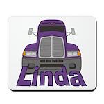 Trucker Linda Mousepad