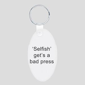 Self affirming key ring