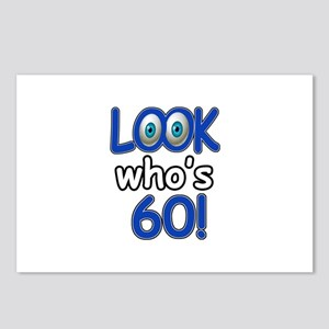Look who's 60 Postcards (Package of 8)
