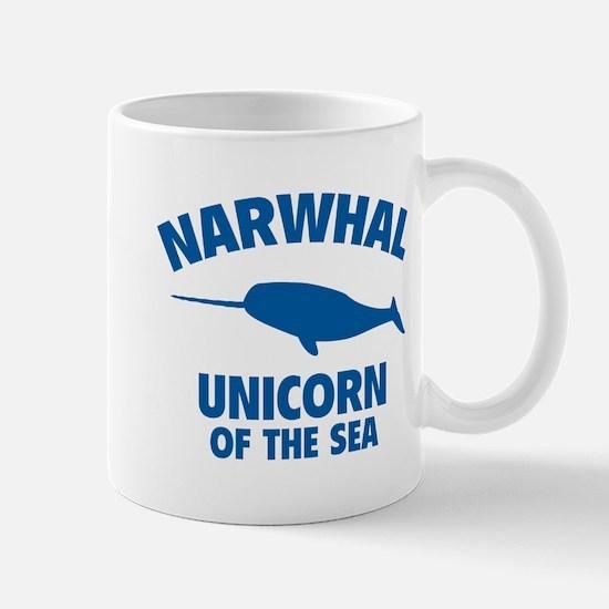 Narwhale Unicorn of the Sea Mug