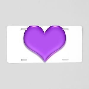 purple heart Aluminum License Plate
