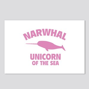 Narwhale Unicorn of the Sea Postcards (Package of