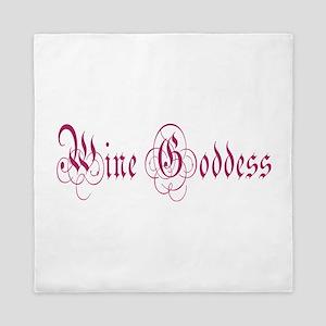 WineGoddessPurple Queen Duvet