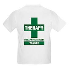 Therapy Dog Handler Trainee Kids T-Shirt