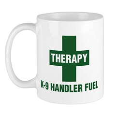 Therapy Dog Handler Fuel Mug