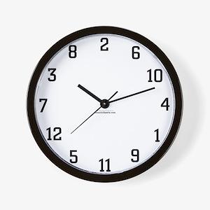 Mixed Up Wall Clock
