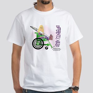 Marijuana Munchkins Differently Abled White T-Shir
