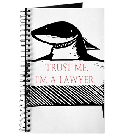 """""""Trust me, I'm a lawyer"""" Journal"""