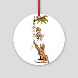Tarzan Ornament (Round)
