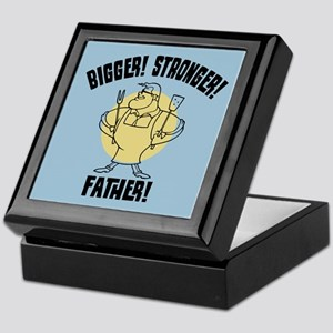 Bigger! Stronger! Father! Keepsake Box